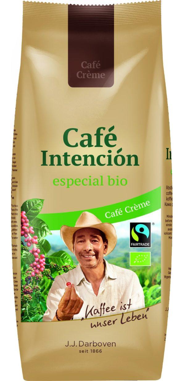 CAFÉ INTENCIÓN ECOLÓGICO CAFFÈ CREMA