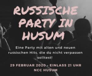 Russische Party Husum 2020