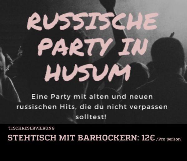 Russische Party 2020 - Stehtisch, ab 2 bis 4 Pers. Ab 21:00 Uhr