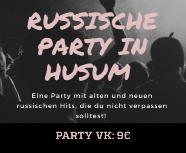 PARTY TICKET<br />Ab 21:00 Uhr NCC HUSUM